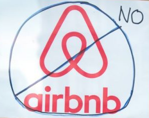 Berlin : say no airbnb - say no airbnb