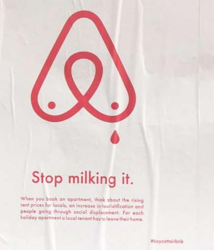 Berlin : stop milking - stop milking anti airbnb berlin