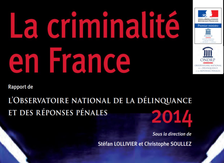 Etude ONDRP 2014 – Les faits de délinquance à Paris