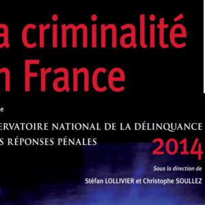 Dossier de l'Observatoire de la Délinquance et des Réponses Pénales en France en 2014